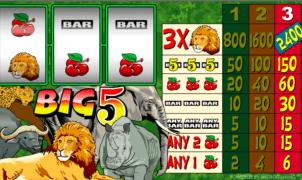Big 5 gratis joc ca la aparate online