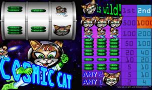 Cosmic Catgratis joc ca la aparate online