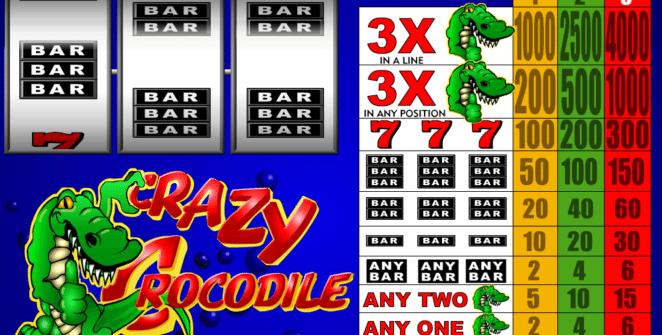 Jocul de cazino onlineCrazy Crocodilegratuit