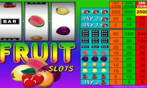 Fruit Slotsgratis joc ca la aparate online