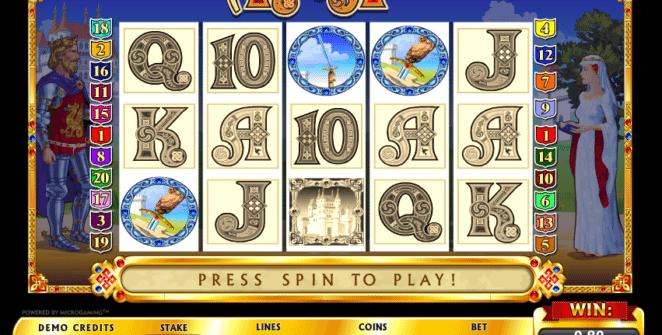 Jocul de cazino online King Arthur gratuit
