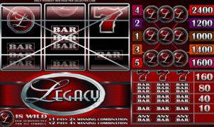 Joaca gratis pacanele Legacy online