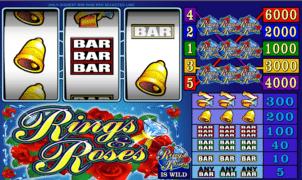 Jocul de cazino onlineRings and Rosesgratuit