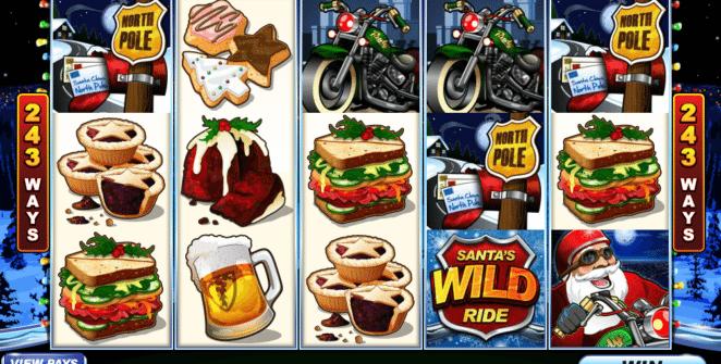 Jocul de cazino onlineSantas Wild Ridegratuit