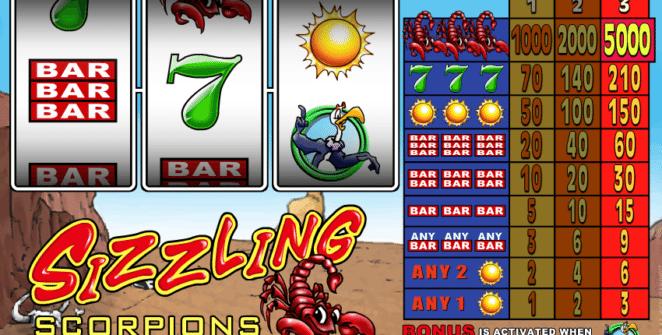 Jocuri PacaneleSizzling ScorpionsOnline Gratis