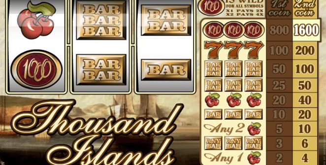 Jocul de cazino onlineThousand Islandsgratuit