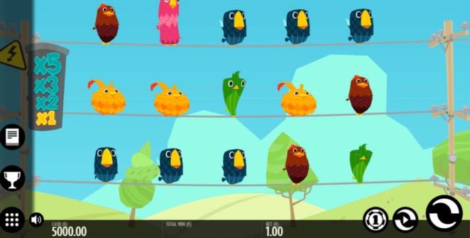 Jocuri Pacanele Birds on a Wire Online Gratis