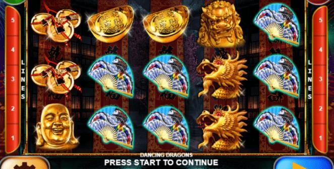 Jocuri Pacanele Dancing Dragons Online Gratis
