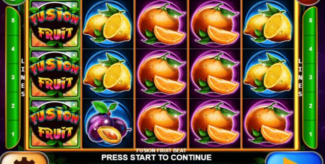 Jocul de cazino online Fusion Fruit Beat gratuit