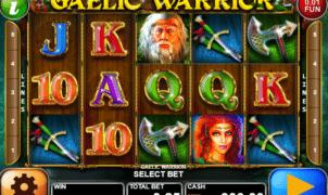 Joaca gratis pacanele Gaelic Warrior online