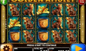 Joaca gratis pacanele Golden Amulet online