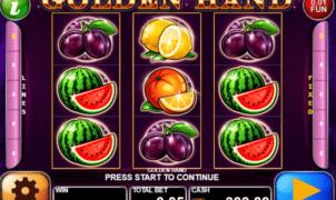 Joaca gratis pacanele Golden Hand online