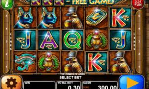 Joaca gratis pacanele The Power of Ankh online