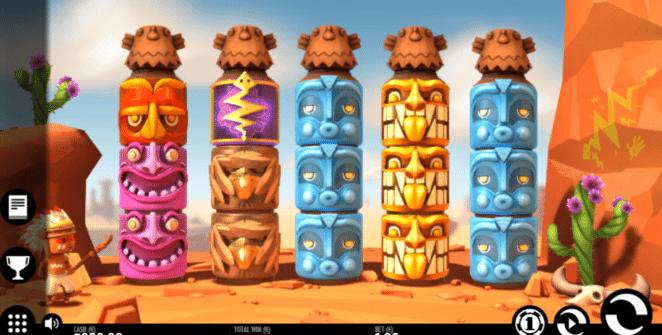 Joaca gratis pacanele Turning Totems online
