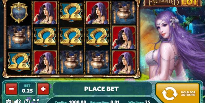 Joaca gratis pacanele Enchanted Lot online