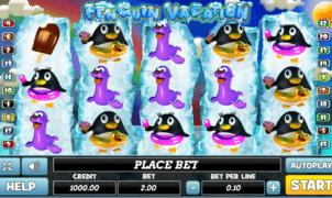 Joaca gratis pacanele Penguin Vacation online