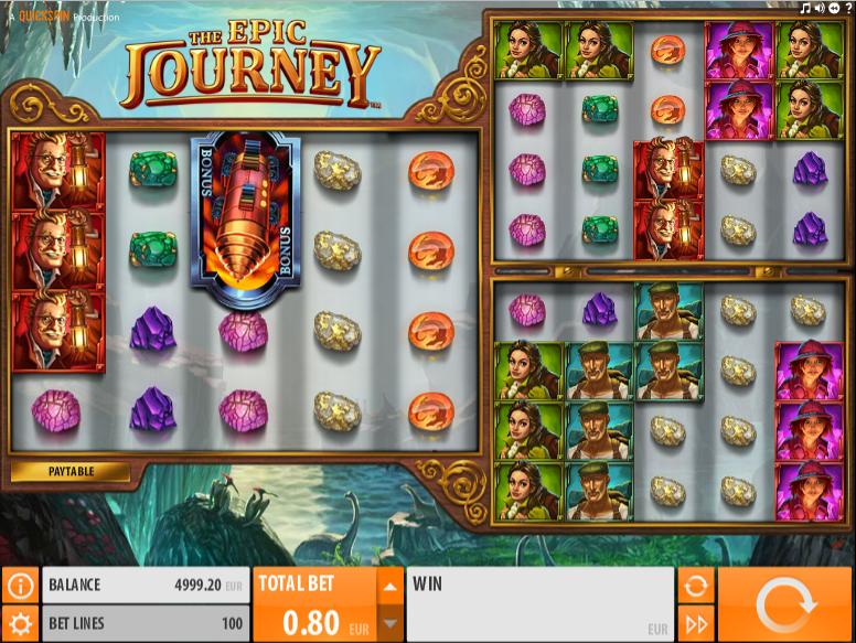 The Epic Journey gratis joc ca la aparate online