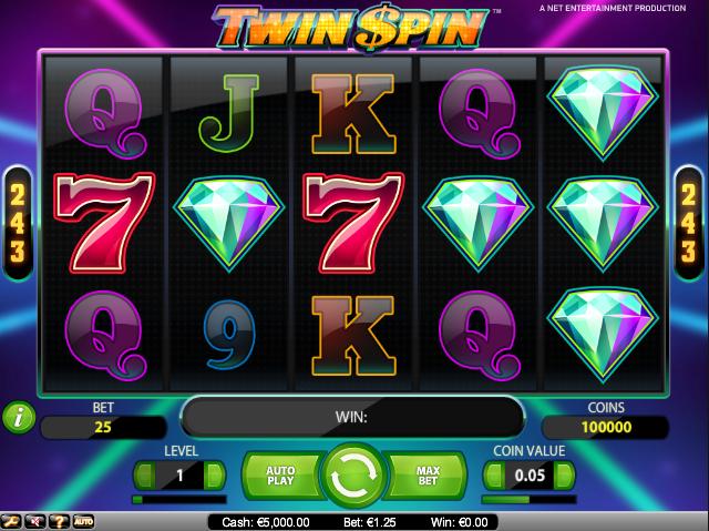 Joaca gratis pacanele Twin Spin online